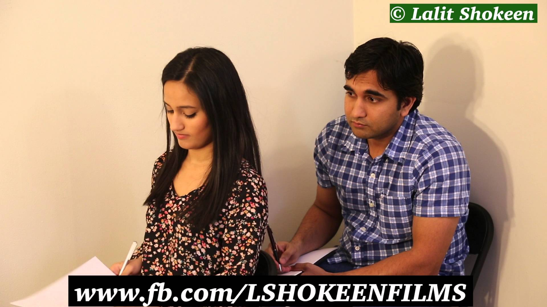LShokeen – Girls and Boys behave differently in exams