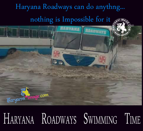 Nothing impossible Haryana Roadways Jokes