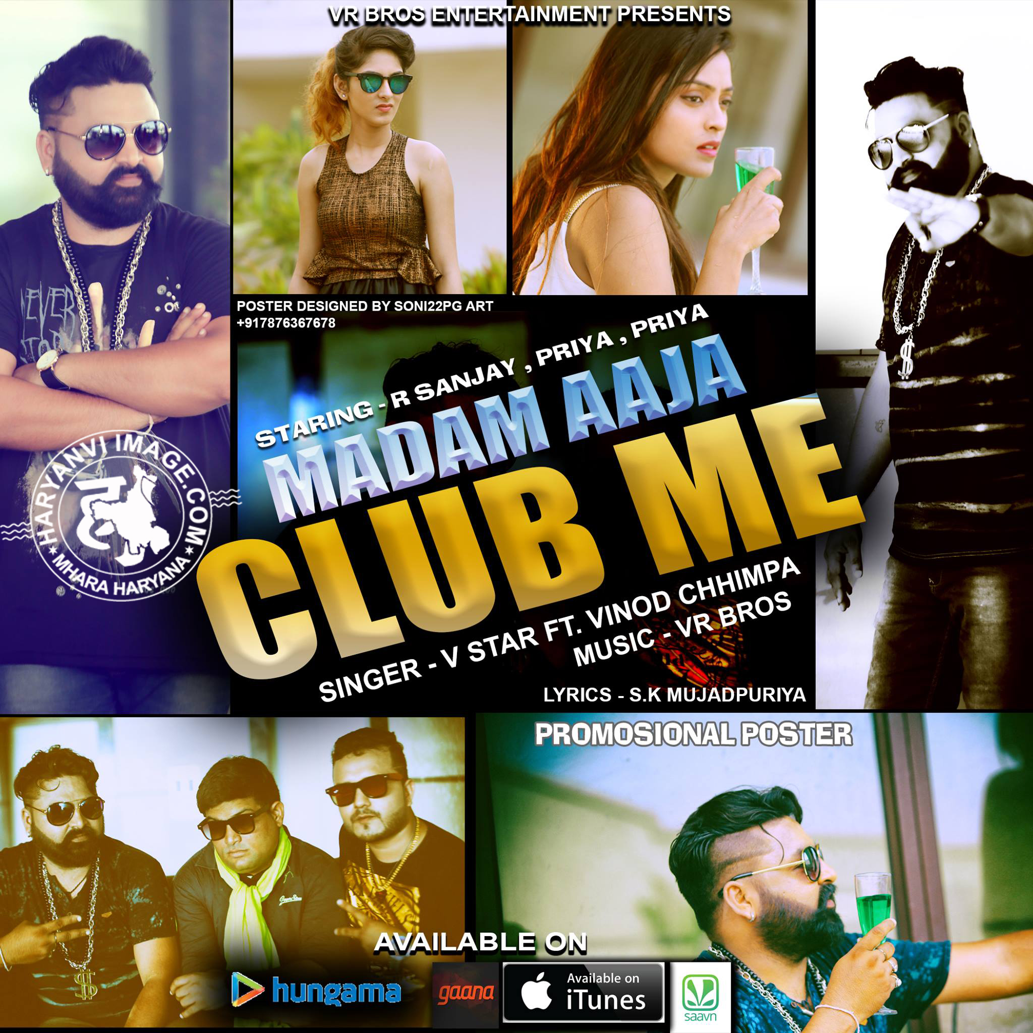 Madam Aaja Club Me - VR Bros