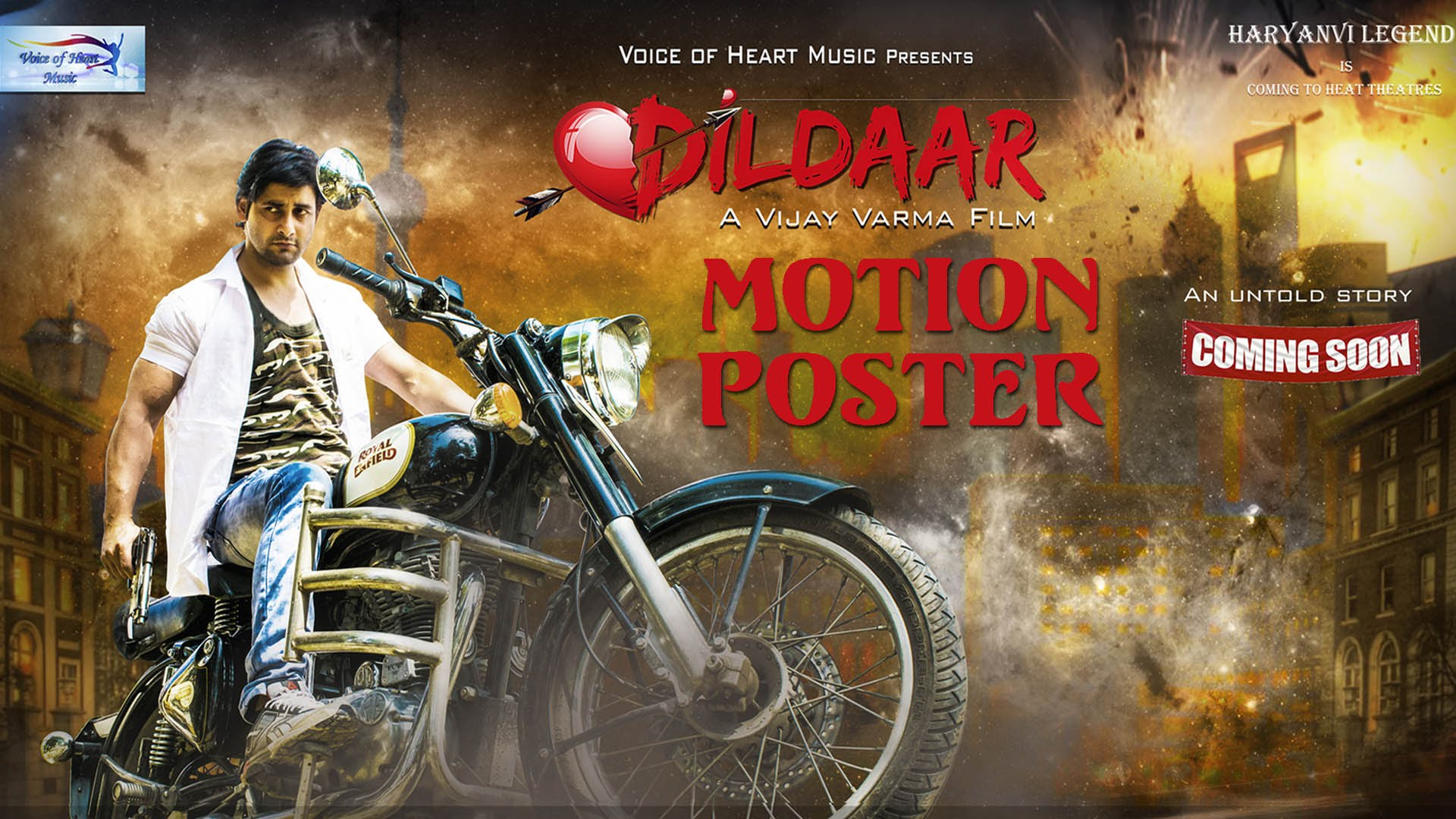 Dildaar Movie Official Motion Poster By Vijay Verma
