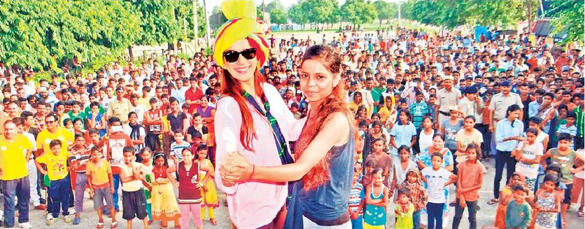 Promotional Event Haryanvi Movie 'Satrangi' Karnal