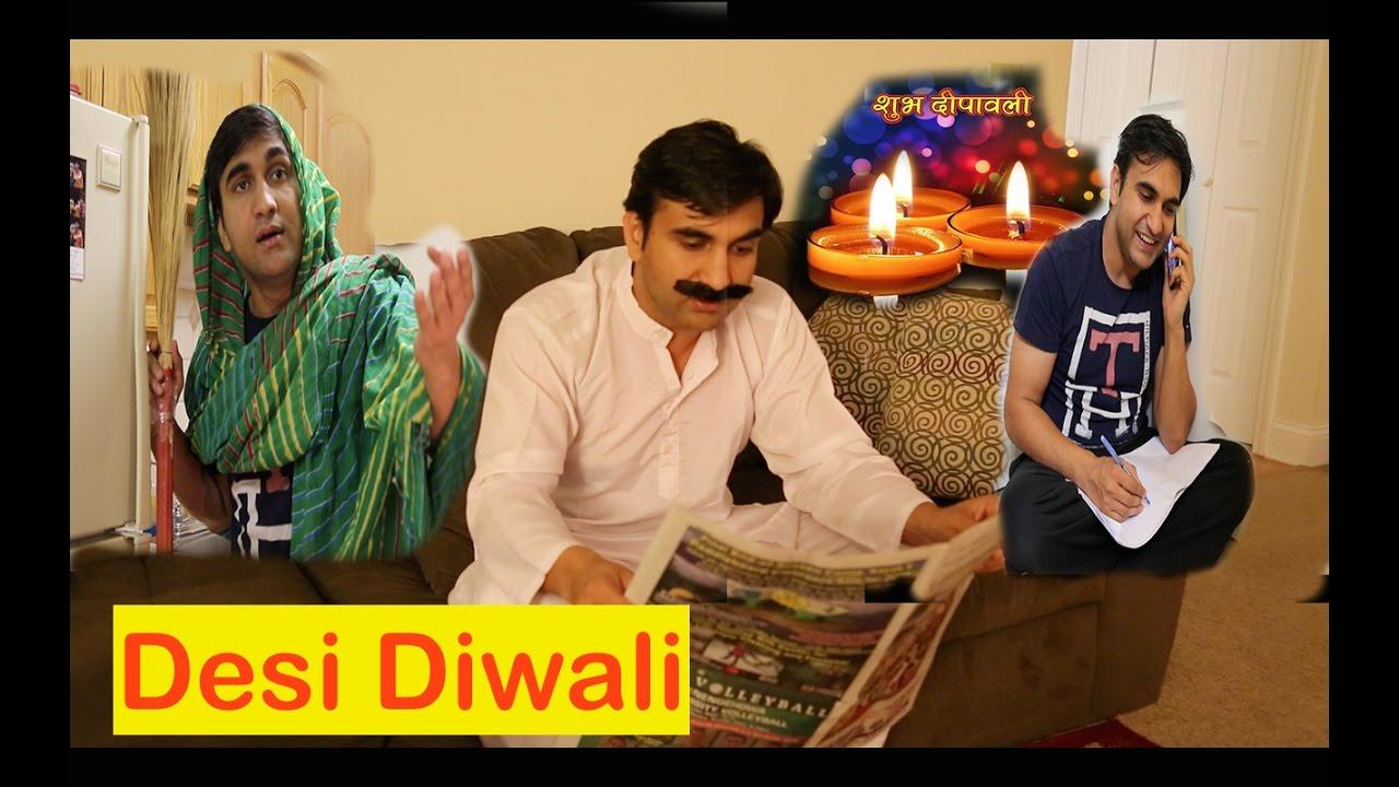 Desi family on Diwali By Lalit Shokeen Comedy