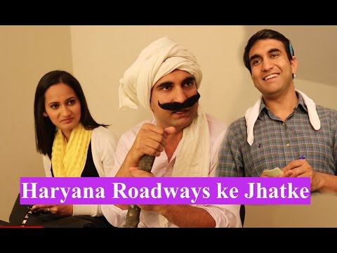 Haryana Roadways ke Jhatke By Lalit Shokeen Comedy
