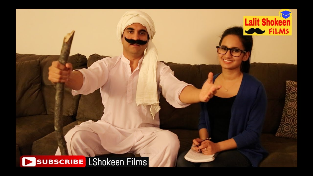 Haryana Day Special – Taau Ka Interview By Lalit Shokeen Comedy