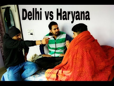 Delhi Guys v/s Haryanvi Guys By Swadu Staff Films