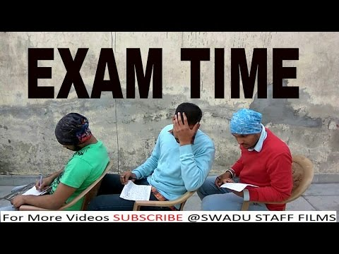 Exam Time | Haryanvi In Exams By Swadu Staff Films