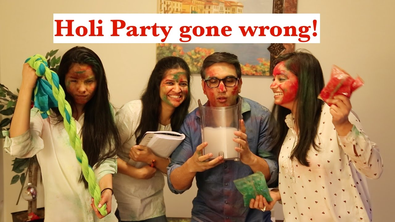 Holi Party gone Wrong By Lalit Shokeen Comedy