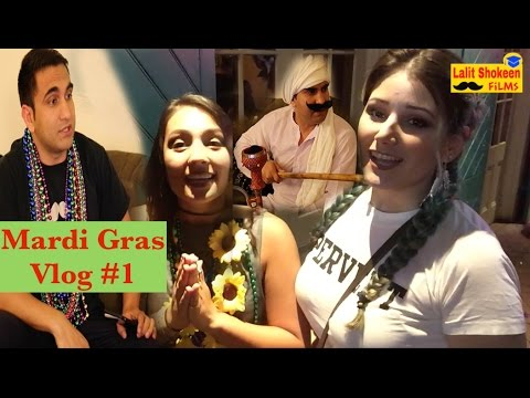 When i went to Mardi Gras, New Orleans By Lalit Shokeen Vlog #1
