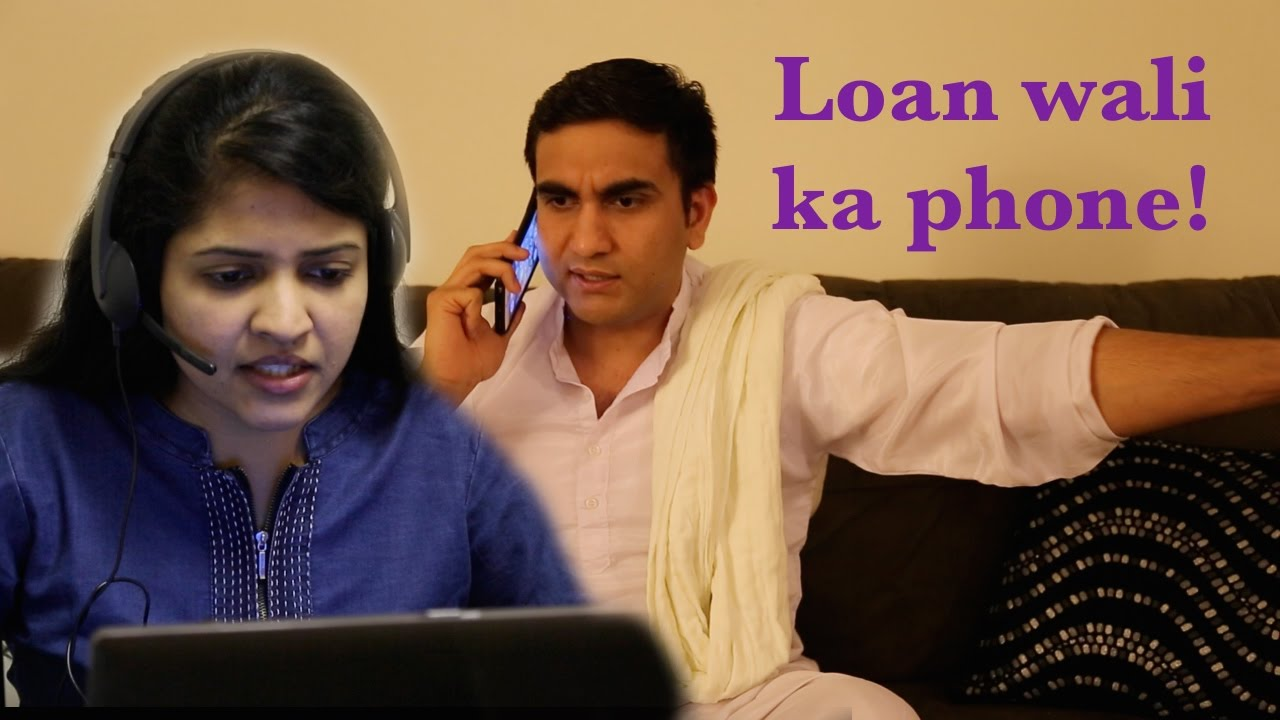 Loan wali ka Phone Haryanvi By Lalit Shokeen Comedy