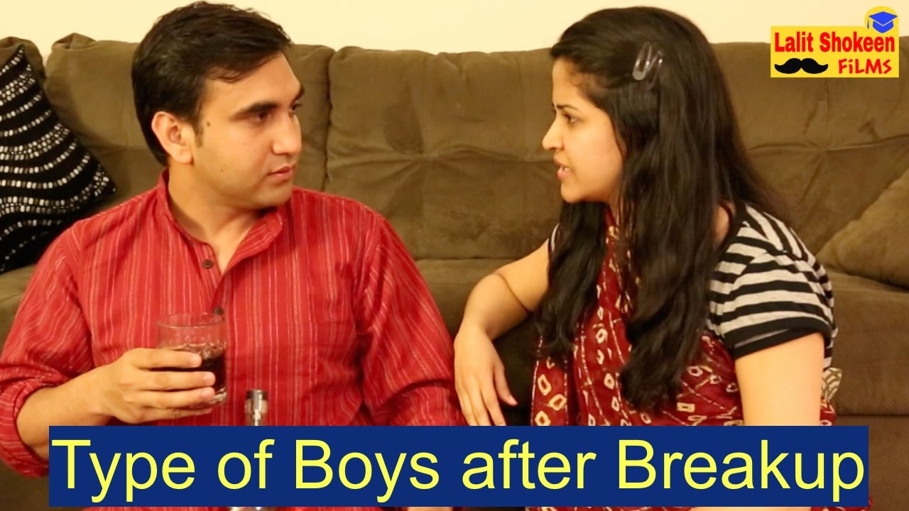 Types of Boys after Breakup By Lalit Shokeen Comedy
