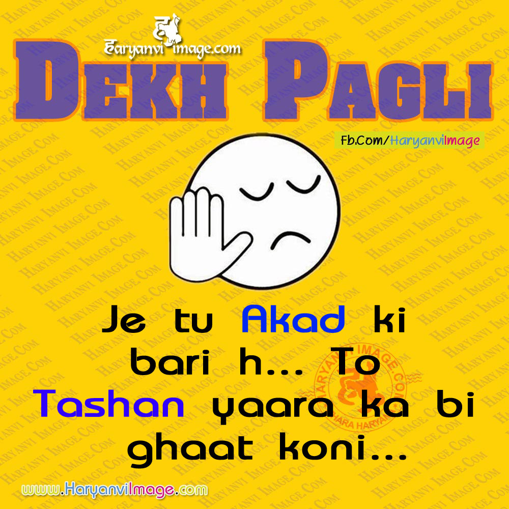 Akad or Tashan Haryanvi Dekh Pagli