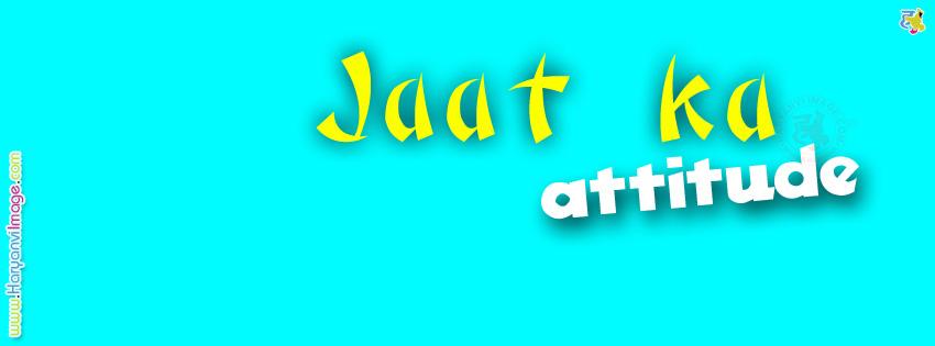 Jaat Ka Attitude FB Cover