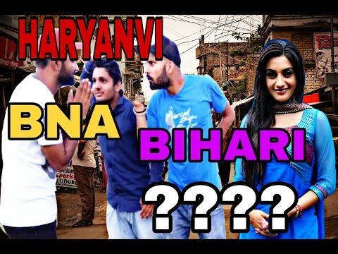 Haryanvi vs Bihari Comedy By Swadu Staff Films