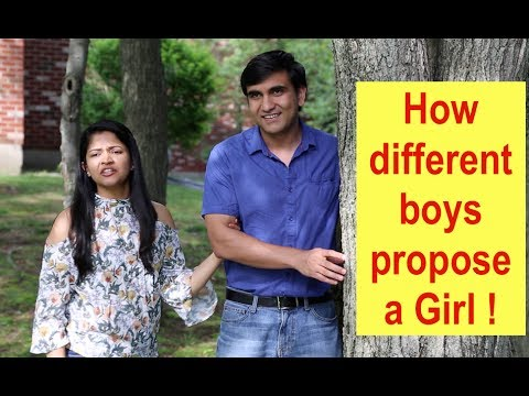 Types of Boys proposing a Girl By Lalit Shokeen Comedy