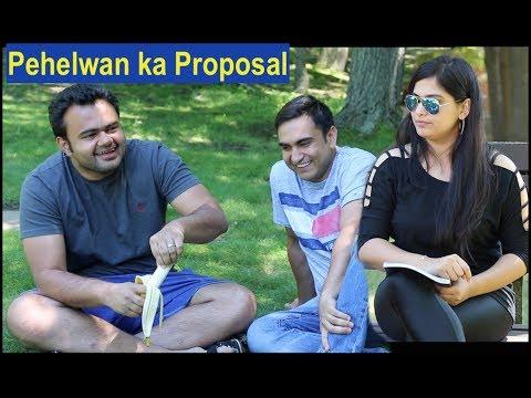 Pehelwan Ji Proposing a Girl By Lalit Shokeen Comedy