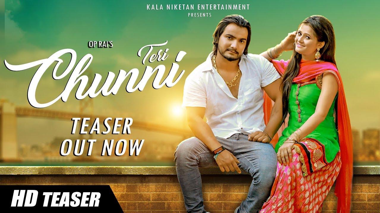 Teri Chunni Teaser Trailer By Anjali Raghav, Raju Punjabi & Andy Dahiya
