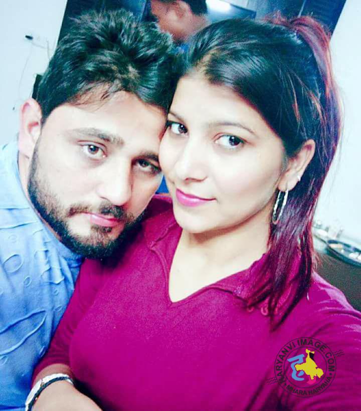 Pardeep Boora & Wife Pooja Hooda Selfie