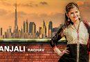 Anjali Raghav Black Suit HD Wallpaper