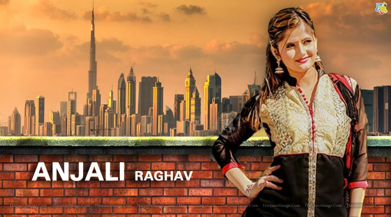 Anjali Raghav Black Suit HD Wallpaper