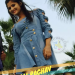 Anjali Raghav Photo Blue Shoot Dress